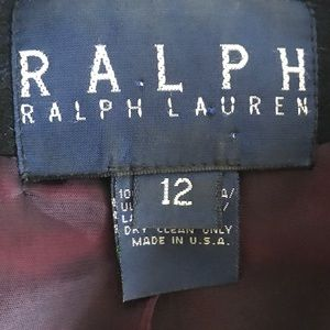Ralph Lauren Jackets & Coats - 1980s Black Watch Plaid Ralph Lauren Womens Blazer